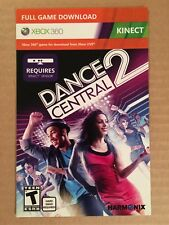 DANCE CENTRAL 2 KINECT - DIGITAL DOWNLOAD CARD - XBOX 360 **NEW**