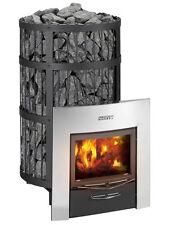 NEW! Harvia Legend 300DUO Woodburning Sauna Heater, Free Eucalyptus