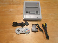 Super Nintendo Entertainment System Grau Spielekonsole SNES