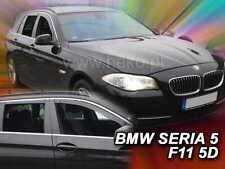 BMW 5 Series  F11  2010 -  COMBI 5.doors Wind deflectors 4.pc set HEKO 11157