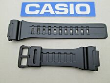 Genuine Casio black resin rubber watch band strap fits STL-S100H