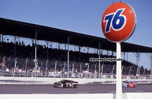 DALE EARNHARDT, SR - NASCAR -DARLINGTON-1996  - Original 35mm Color Slide