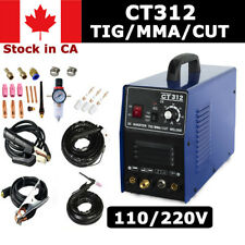 CT312 Plasma Cutter TIG/MMA Welding 3 Functions in 1 Machine 110v/220v