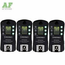 4pcs Yongnuo Wireless Flash Trigger RF-605N LCD For Nikon D5200 D5100 D3100 D90