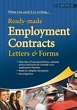 Ready-made Employment Letters, Contracts and Forms-ExLibrary