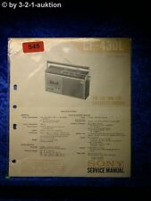 Sony Service Manual CF 430L Cassette Recorder (#0545)
