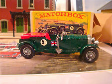 Matchbox Models of Yesteryear Y-5 1929 4 Litres Bentley