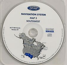 2003 2004 2005 2006 Ford Expedition Eddie Bauer Navigation Map #3 Cover AZ NM TX