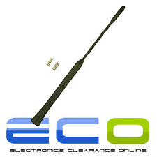 28cm SKODA FABIA OCTAVIA Black Beesting Whip Mast Car Roof Aerial Antenna