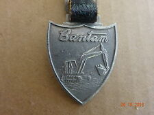 Vintage Shield Bantan Equipment Double Sided Watch Fob