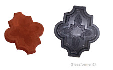 10 Schalungsformen / Gießformen für Beton Verbundpflastersteine ORIENT 2 Gehweg