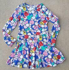 Marks & spencer Mädchen Abstrakt Mehrfarbig Langärmeliges Kleid 13-14 Jahre