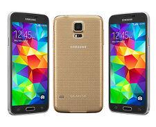 """5.1"""" Samsung Galaxy S5 G900P 4G 16GB 16MP Waterproof Débloqué Téléphone Or Gold"""