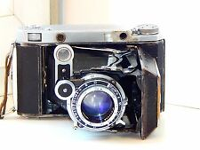 OLD RARE MOSKVA 5 Soviet Folding Camera Super Ikonta Medium Format w/s lens