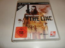 PlayStation 3  PS3  Spec Ops: The Line  USK 18 -