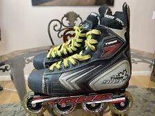 Tour Thor 909 Cdn Roller Hockey In-line Skates Blades Mens Size Us 9 Eur 43