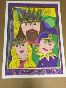 Fat Tuesday I~A Limited Edition~Signed and Numbered Embellished Print