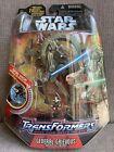 Hasbro Star Wars Transformer : General Grievous Wheel Bike Action Figure - 2005 For Sale
