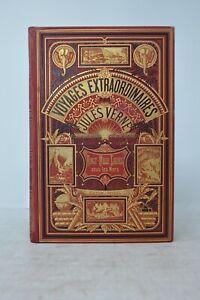 Vingt Mille lieues sous les mers Jules Verne  Edition Hetzel Engel  rel 1876