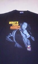 WWE THE ROCK WHAT'S MY NAME IT DOESN'T MATTER SHIRT XL HARD TO FIND WWF