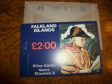 Falkland Islands Silver Jubilee Queen Elizabeth II L2.00 Stamp Booklet