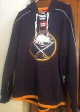 BUFFALO SABRES FACE OFF FLEECE HOODIE BY REEBOK-NEW W/TAGS!