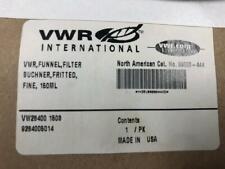 VWR Fritted Buchner Filter Funnel 150 mL 89000-444