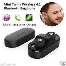 Mini Twins Wireless Bluetooth Stereo In-Ear Earphone Headset Earbuds for iphone7