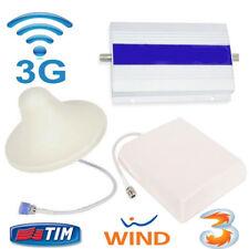 Amplificatore Segnale Booster Ripetitore 3G UMTS WCDMA per Cellulare Con Antenna