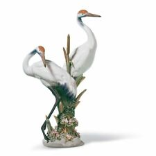 Lladro Courting Cranes Sculpture