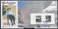 24-Jan-2007 Australian Legends Slim Dusty Prestige Booklet pane Wesley FDC