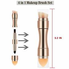 4 in 1 makeup brush  Makeup Tools Kit  Sponges Professional for Travel