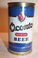 Oconto Premium Beer flat top - Oconto Brewing Co., Oconto, Wisconsin