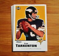 MINNESOTA VIKINGS Retro TEAM SET - Fran Tarkenton