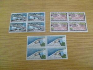 Ivory Coast MNH blocks of 4 SG 183-5 catalogue £90+ - Ref IE2