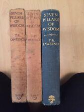 T E Lawrence Books Seven Pillars Of Wisdom