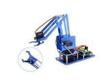 4-DOF Metal Robot Arm Kit for Raspberry Pi, Bluetooth+WiFi version