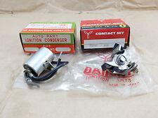 Honda CA100 C100 Cub 50 S65 CA105T Trail 55 Contact Points + Condenser NOS Japan