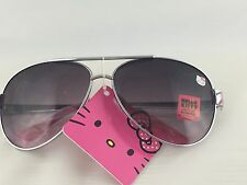 Hello Kitty Sunglasses 100% UV Protection Girls Kids- Sliver U.S. Seller.