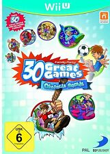 Nintendo Wii U Spiel * Family Party 30 Great Games - Obstacle Arcade ****NEU*NEW