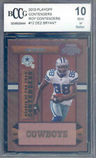 2010 playoff contenders roy contenders #12 DEZ BRYANT rookie BGS BCCG 10