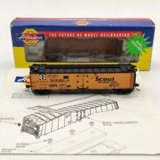 Athearn N Scale 11561 A.T.S.F Scout 50 Ice Bunker Reefer Earty Map 37291 Used