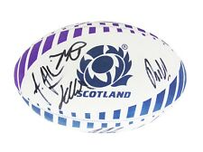 Signed Scotland Rugby Ball 2019 + Photo Proof *See The Players Sign This Ball*