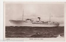 Swedish Lloyd, M.S. Saga Shipping RP Postcard, B512