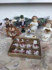 Weihnachtsdeko - Deko für Weihnachten, 8 teiliges Konvolut