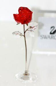 Swarovski Original Figur Blumenträume Rote Rose  5490756 Neu mit Verpackung