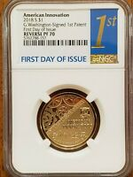 2018-S American Innovation Dollar NGC PF70 **Check It Out! #AA208-2
