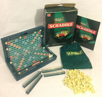 Scrabble Travel Edition Board Game 2005 Mattel 100% Complete