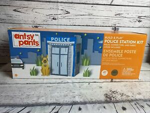Antsy Pants Build & Play Police Station Kit~Toy of the Year 2018~New, Sealed Box