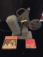 Antique EXCEL 16mm Film Movie Projector motor & lights work.